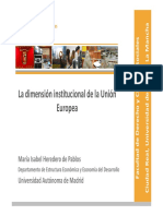 Dimensión Institucional UE_Maribel Heredero