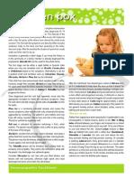 Chickenpox Fact Sheet