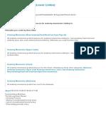 Anatomy Mnemonics (Lower Limbs) - Mnemonics - Mosaiced
