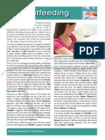 Breastfeeding Fact Sheet