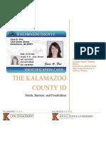 Kalamazoo County ID Program Task Force Report