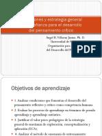 Condiciones y Estrategia General Del Desarrollo Del Pensamiento