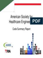 Ashe Code Comparison Nfpa 101 Lsc & Ibc
