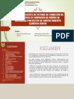 ESTIMACION ANALITICA FACTORES DE CORRECCION POR ESBELYEZ EN PILAS