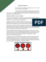 PRESIÓN OSMÓTICA DE SANGRE PLANTAS Y MERMELADA