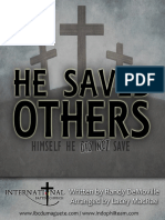 He Saved Others Sheet Music