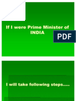 If I Were Prime Minister of India