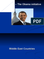 Middle East – The Obama initiative
