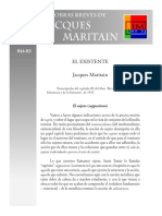 Maritain, Jacques - 15 - El Existente