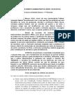 Trabalho de Direito Administrativo - Parecer Jurídico - Demissão de Servidor