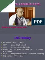 The Great Leader - Sardar Vallabhbhai Patel
