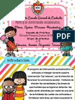 Presentación Proyecto Socioeducativo