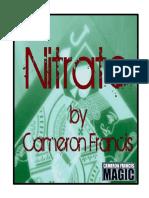 Cameron Francis - Nitrate