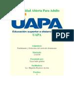 Tarea 5 Fundamentos y Estructura Del Curriculo Dominicano