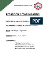 Comunicacion y Redacccion