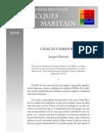 Maritain, Jacques - 10 - Ciencia y Sabiduría.pdf