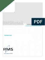 Cadastro Parametros Rms