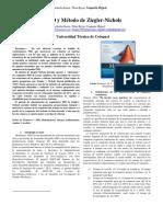 P I D y Método de Ziegler
