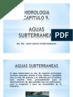 Cap9 Ses1 Hidrologia Aguas Subterraneas 2017