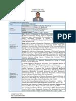 CV Dr Mamunur Rashid 2017