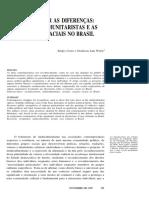 COSTA, Sérgio; WERLE, Denílson. Reconhecer as Diferenças - Liberais, Comunitaristas e as Relações Raciais No Brasil