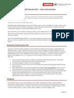 Argus Field Service Kit User Guide