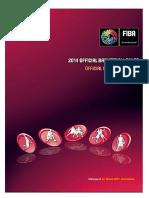Reglas oficiales Basquetbol FIBA 2014 Edición 2017
