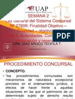 DERECHO CONCURSAL UAP