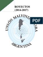 Proyectos (2014 - 2017)
