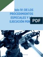 Derecho Procesal Penal II Módulo IV