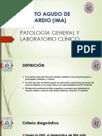 Infarto Agudo de Miocardio (Ima)