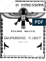 Egyptian Impressions  (Bainbridge Crist)