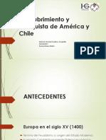 Descubrimiento y Conquista - América y Chile 2017