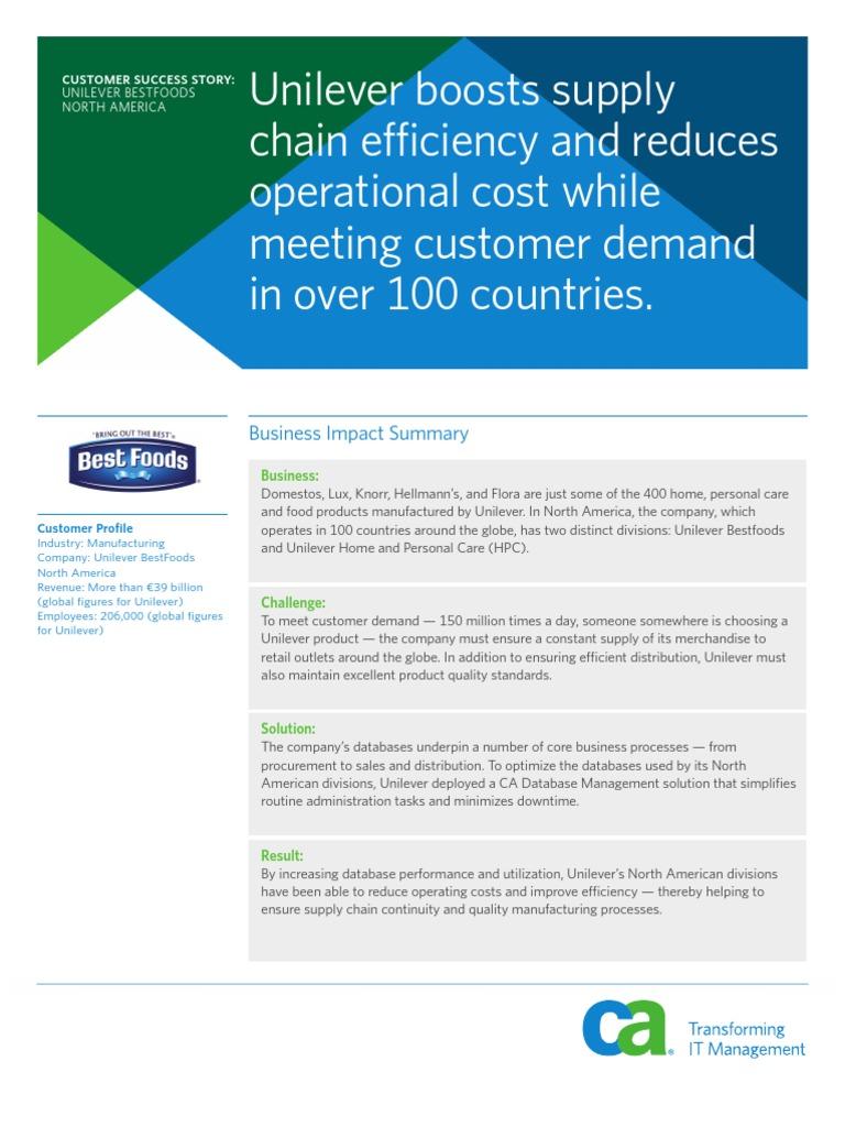 unilever-bestfoods-successstory | Enterprise Resource Planning