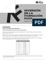 Inversion en La Formacion Pucp
