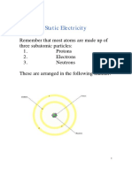 01Introduction to Static Electricity Note