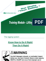 Training Module - Lifting & Rigging