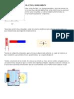 Cargas Eléctricas en Movimiento