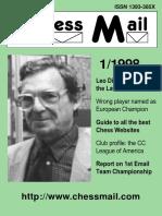 1998 - Chess Mail Nº 1