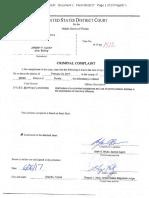 Jeremy P. Achey vs United States Criminal Complaint
