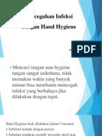 Pencegahan Infeksi Dengan Hand Hygiene