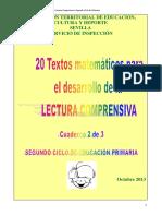 Comprensión matemáticas 2° ciclo (2)