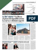 """La Provincia Di Cremona 06-07-2017 - Lo Zini """"Salotto"""""""