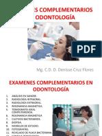 Examenes Complementarios en Odontología