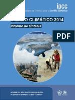 Cambio Climático 2014 Ipcc