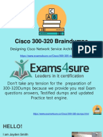 300-320 Practical Questions Answers With 100% Passing Guarantee