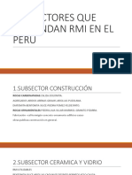 SUBSECTORES QUE DEMANDAN RMI EN EL PERÚ.pptx