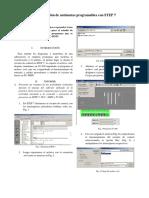 Programación de autómatas programables con STEP 7