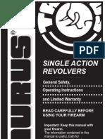 Taurus Single Action Revolver Manual [1]