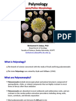 Mohamed K Zobaa_Palynology (Spore-Pollen Morphology)